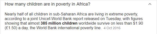 poor kids in africa